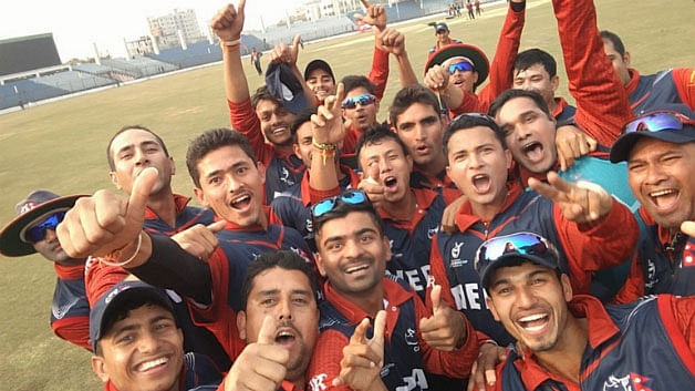 The Nepalese Cricket Team (Photo: Twitter/@icc)