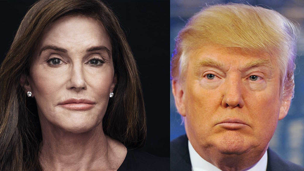 Caitlyn Jenner and Donald Trump. (Photo: <b>The Quint</b>)
