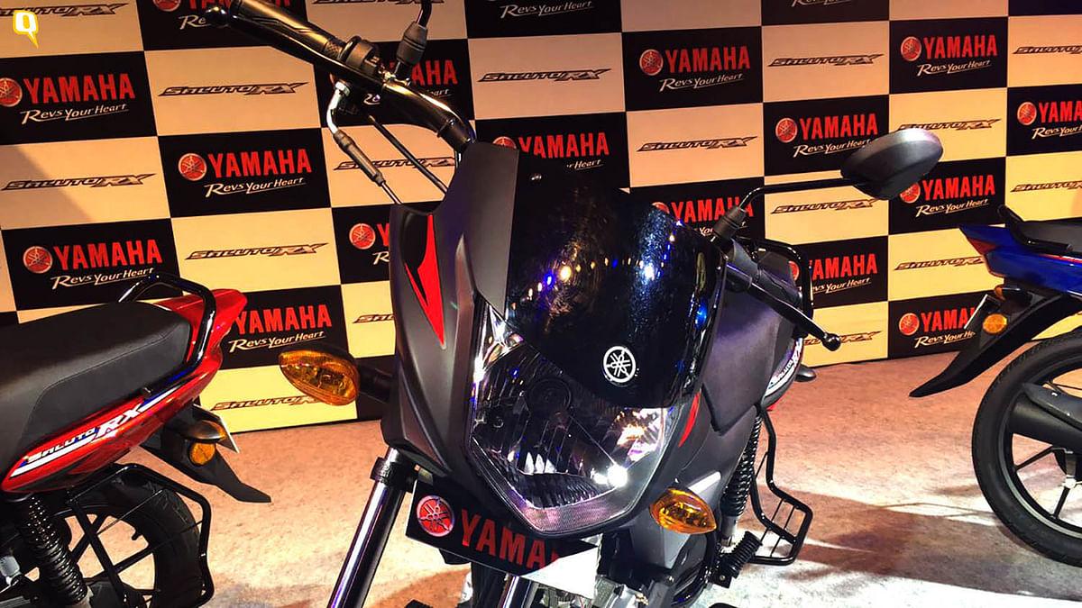 Yamaha Saluto. (Photo: <b>The Quint</b>)