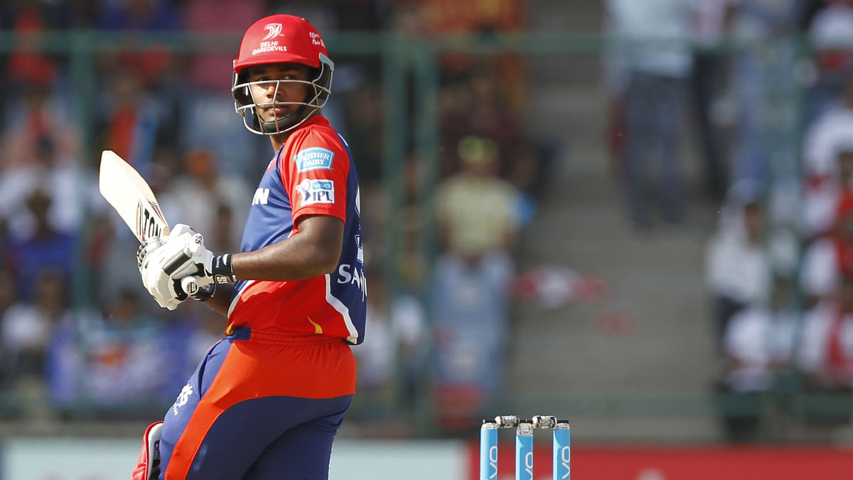Young players like Sanju Samson are getting good opportunities in the IPL. (Photo Courtesy: BCCI)