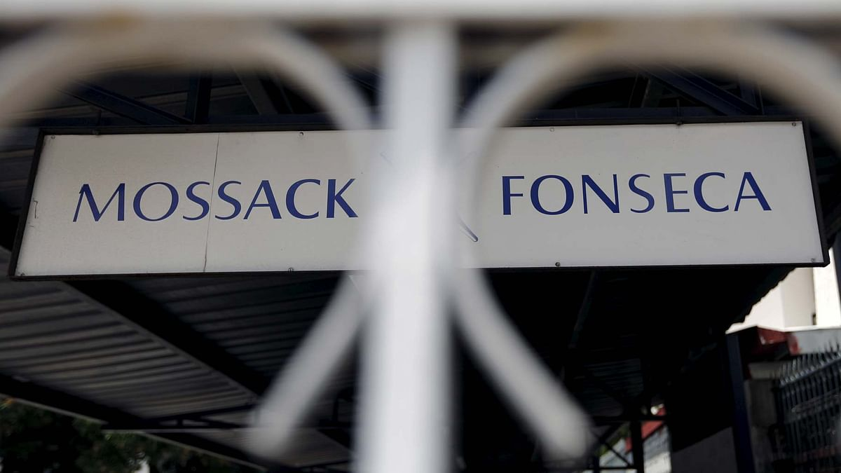 Mossack Fonseca law firm sign is pictured in Panama City, April 4, 2016. (Photo: Reuters)