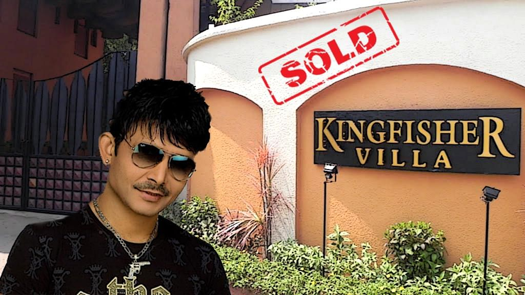 The rich and famous Kamaal R Khan (Photo: Altered by The Quint)