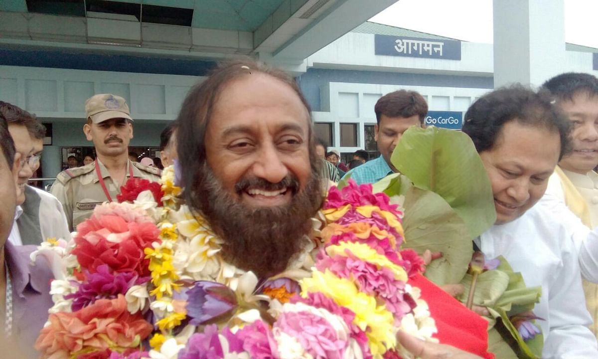 Sri Sri's peace project comes at a time when militancy in Manipur is on the wane. (Photo: Suresh Babu)