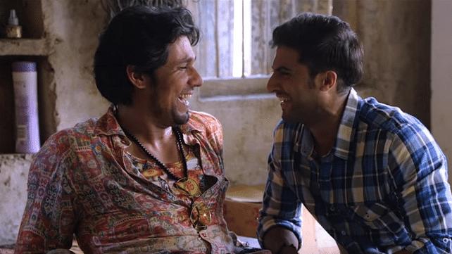 (Left to right) Randeep Hooda and Akshay Oberoi in a still from <i>Laal Rang</i>. (Photo Courtesy: YouTube Screengrab)