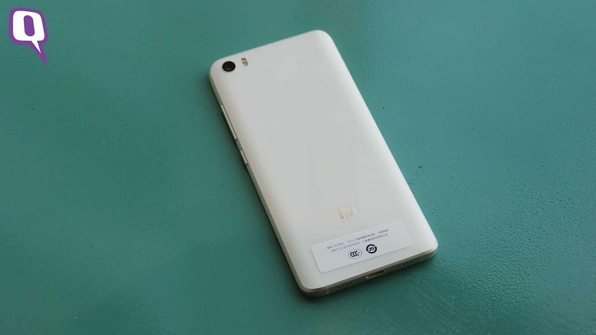 Xiaomi Mi5. (Photo: <b>The Quint</b>)