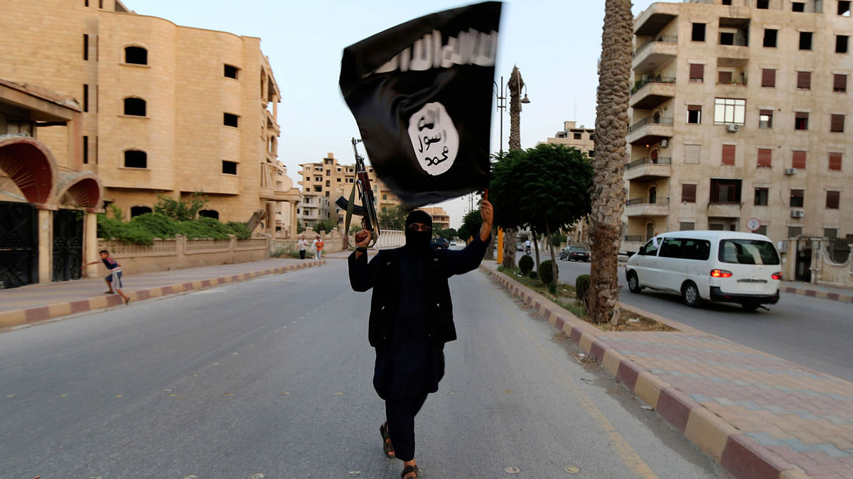 An ISIS supporter. (Photo: Reuters)