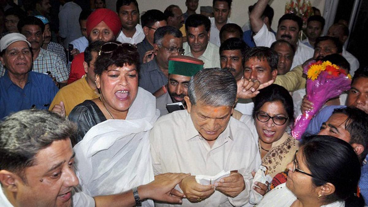 Harish Rawat has been reinstated as Chief Minister of Uttarakhand. (Photo: PTI)
