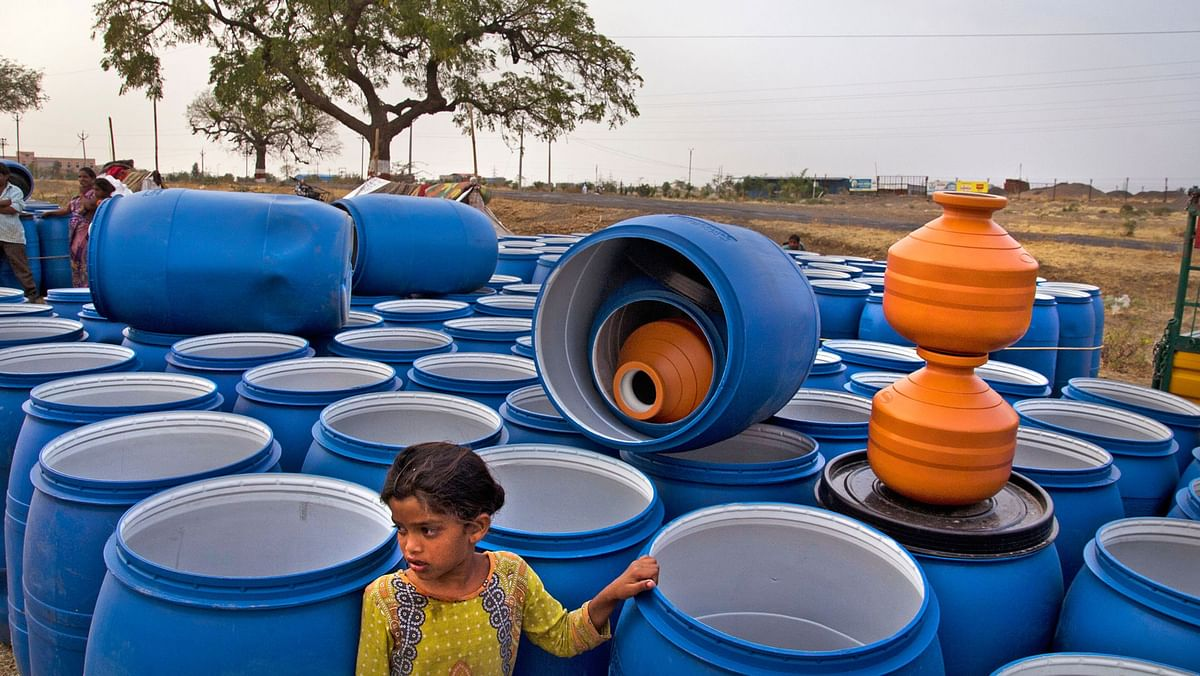 There have been consecutive droughts. (Photo Courtesy: Subrata Biswas/Greenpeace)