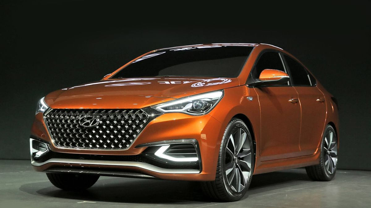 2017 Hyundai Verna Concept. (Photo: Altered by <b>The Quint</b>)