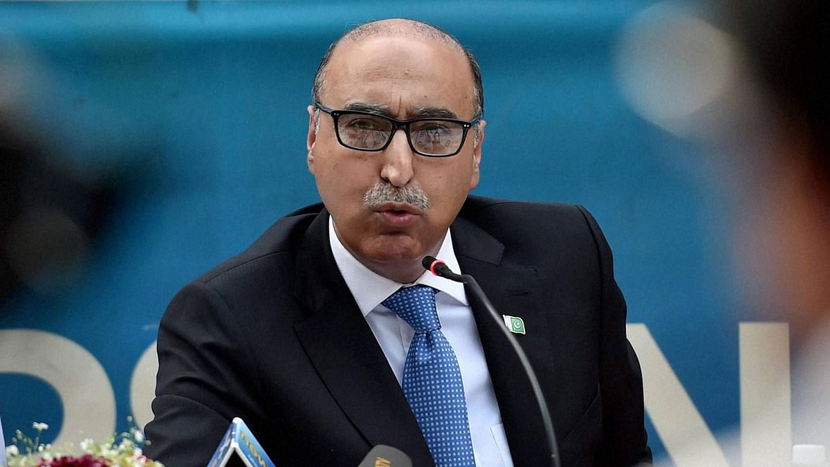 Abdul Basit, Pakistan High Commissioner to India speaking on Thursday, 7 April 2016. (Photo: PTI)