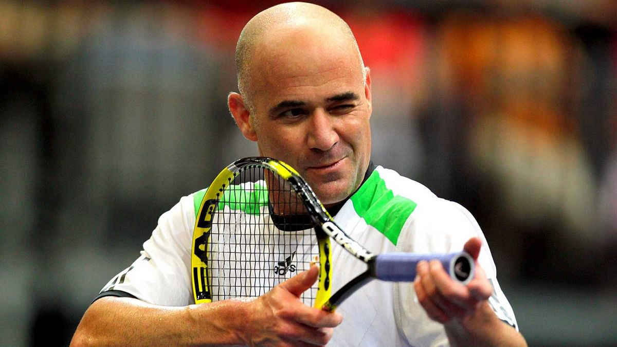File photo of Andre Agassi.