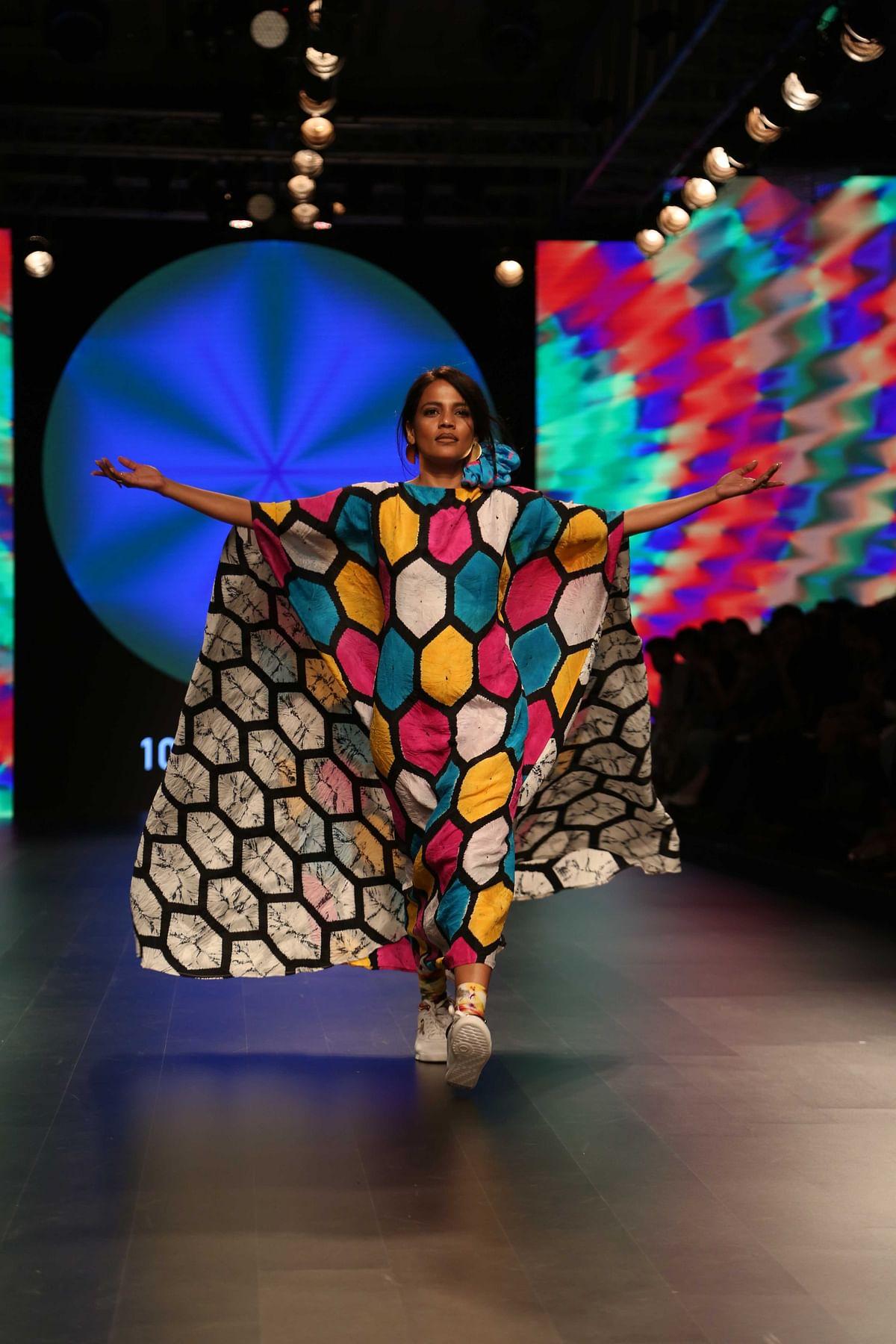 Indian fabrics with modern styling (Photo: Yogen Shah)