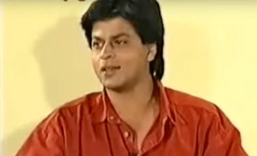 Shah Rukh Khan as he appeared on <i>Aap Ki Adalat </i>in 1994&nbsp;
