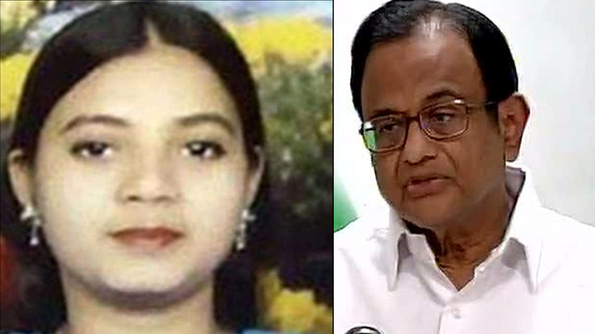 Media reports have claimed that former Home Minister P Chidambaram signed on contradictory affidavits related to Ishrat Jahan's terror links. (Photo: Altered by <b>The Quint</b>)