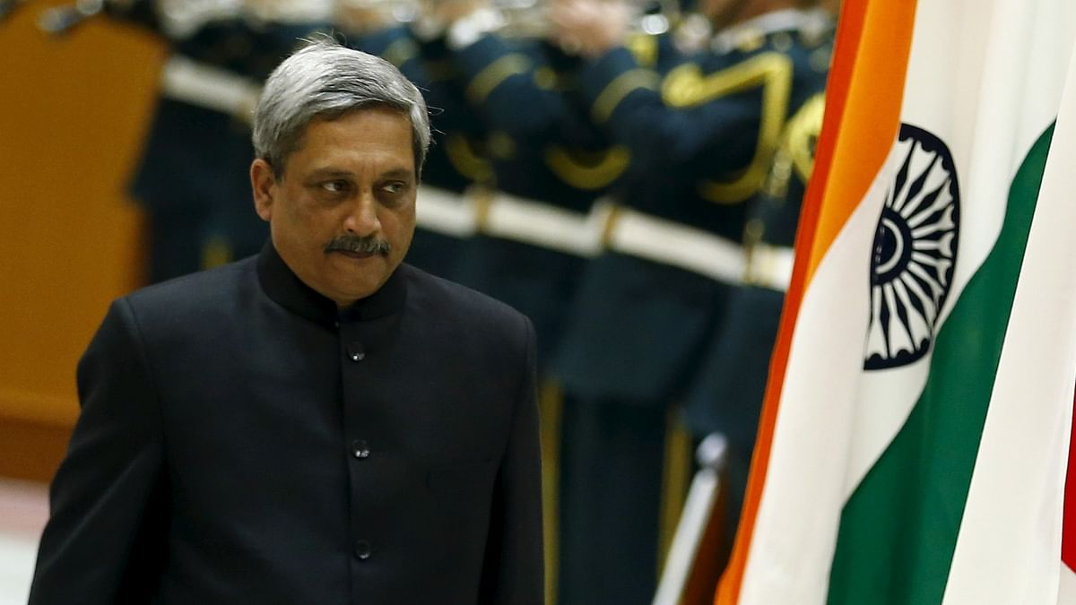 Defence Minister Manohar Parrikar  is currently on his maiden visit to China. (Photo: Reuters)