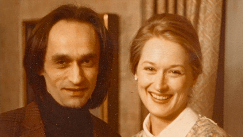 John Cazale and Meryl Streep (Photo courtesy: Twitter)