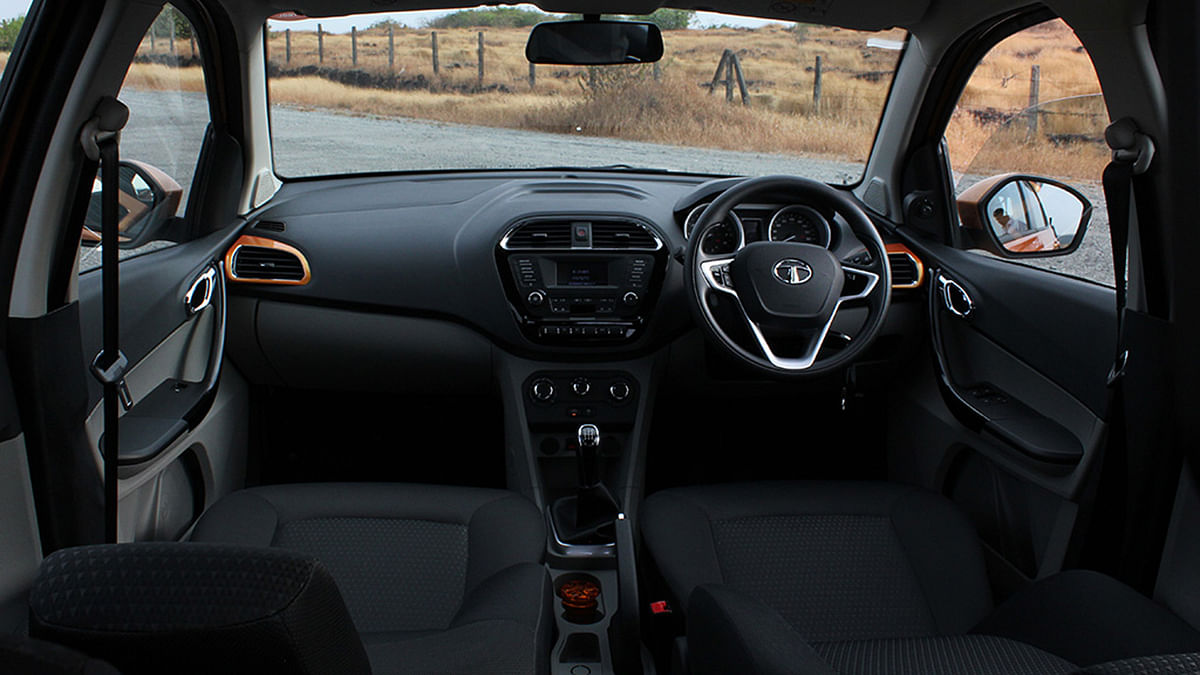 """The all-black interiors come loaded with technology. (Photo Courtesy: <a href=""""https://www.motorscribes.com/"""">Motorscribes</a>)"""