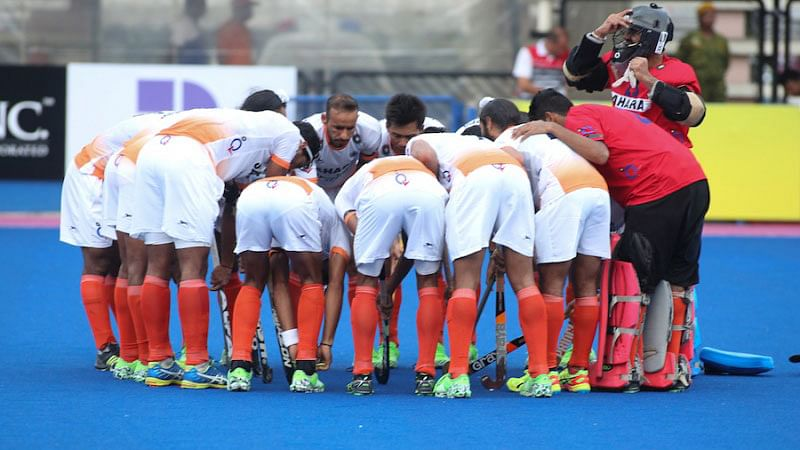 """File photo of the Indian Hockey Team (Photo: <a href=""""http://hockeyindia.org/photo-gallery?album=1&amp;gallery=311&amp;pid=7084"""">Hockey India</a>)"""