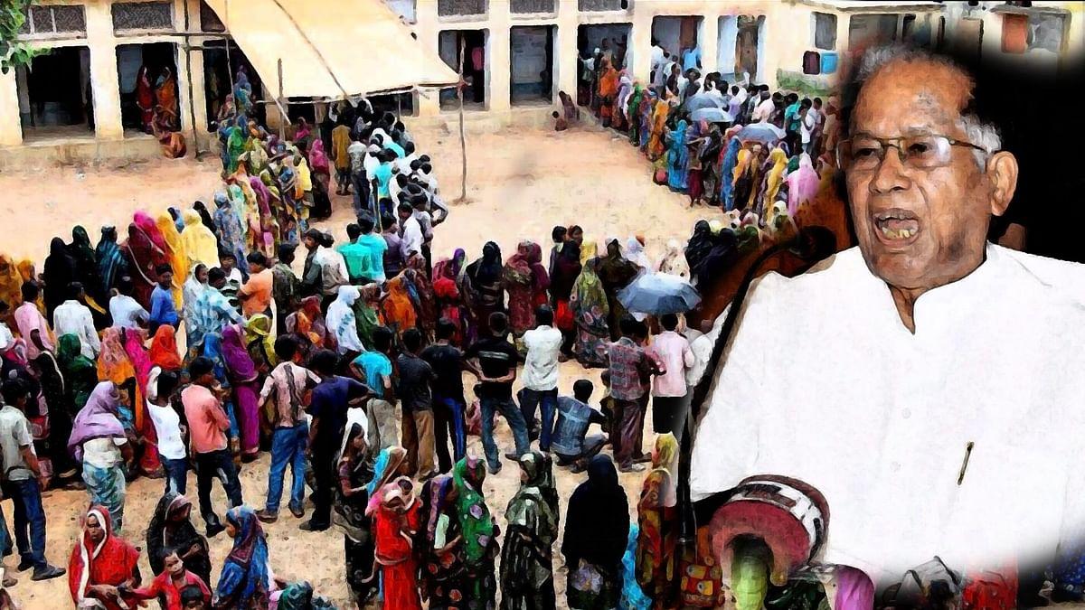 Amid Massive Voter Turnout, EC Lodges FIR Against Tarun Gogoi