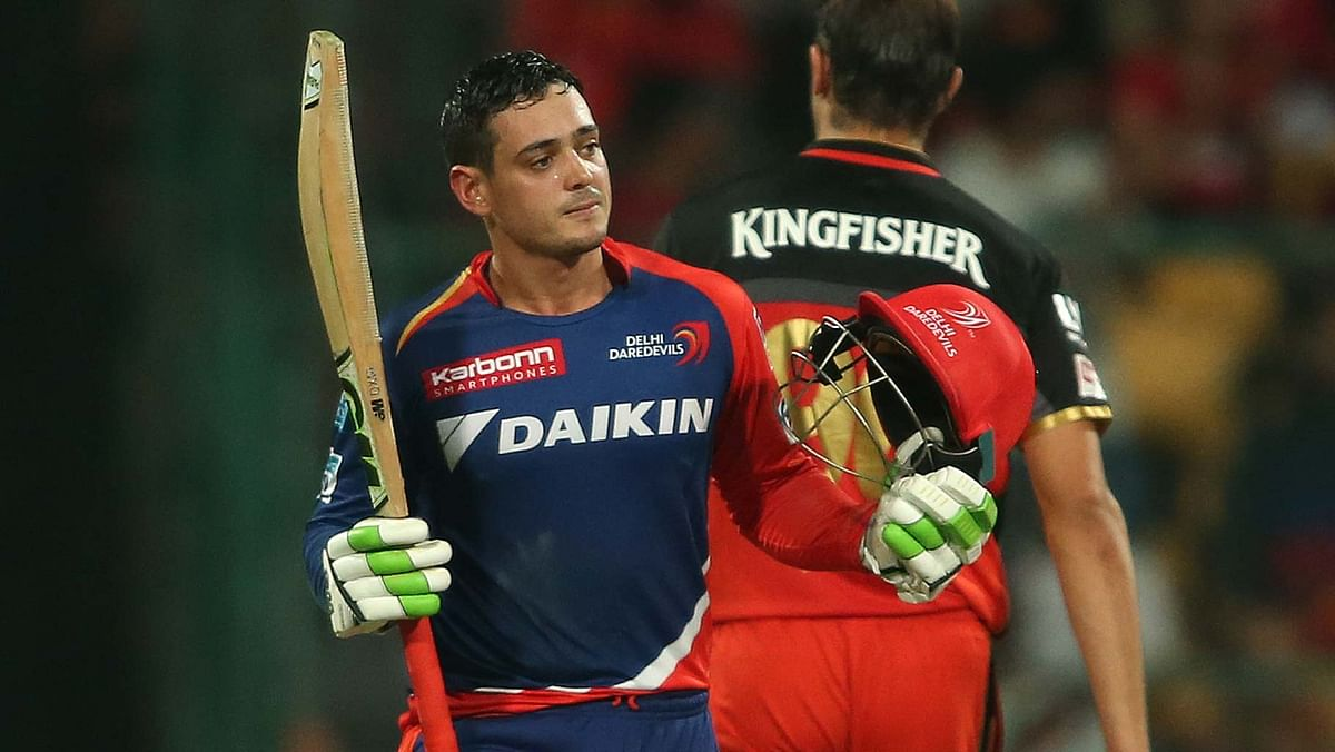 Quinton de Kock has pulled out of the IPL. (Photo: BCCI)