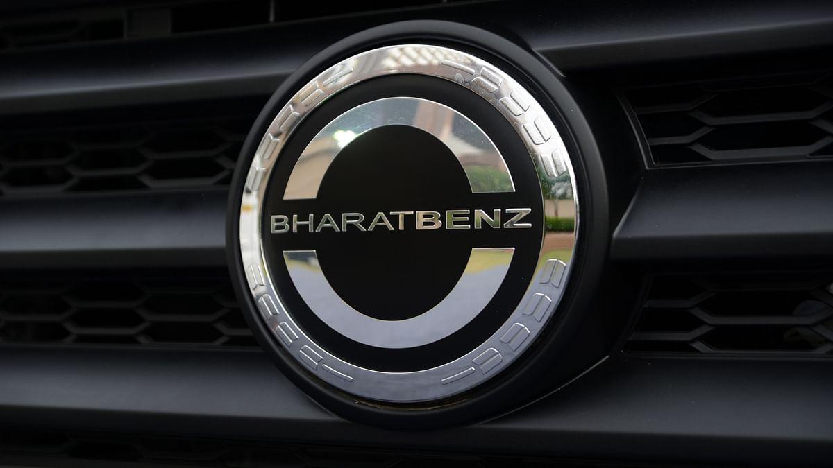 BharatBenz logo. (Photo Courtesy: BharatBenz)