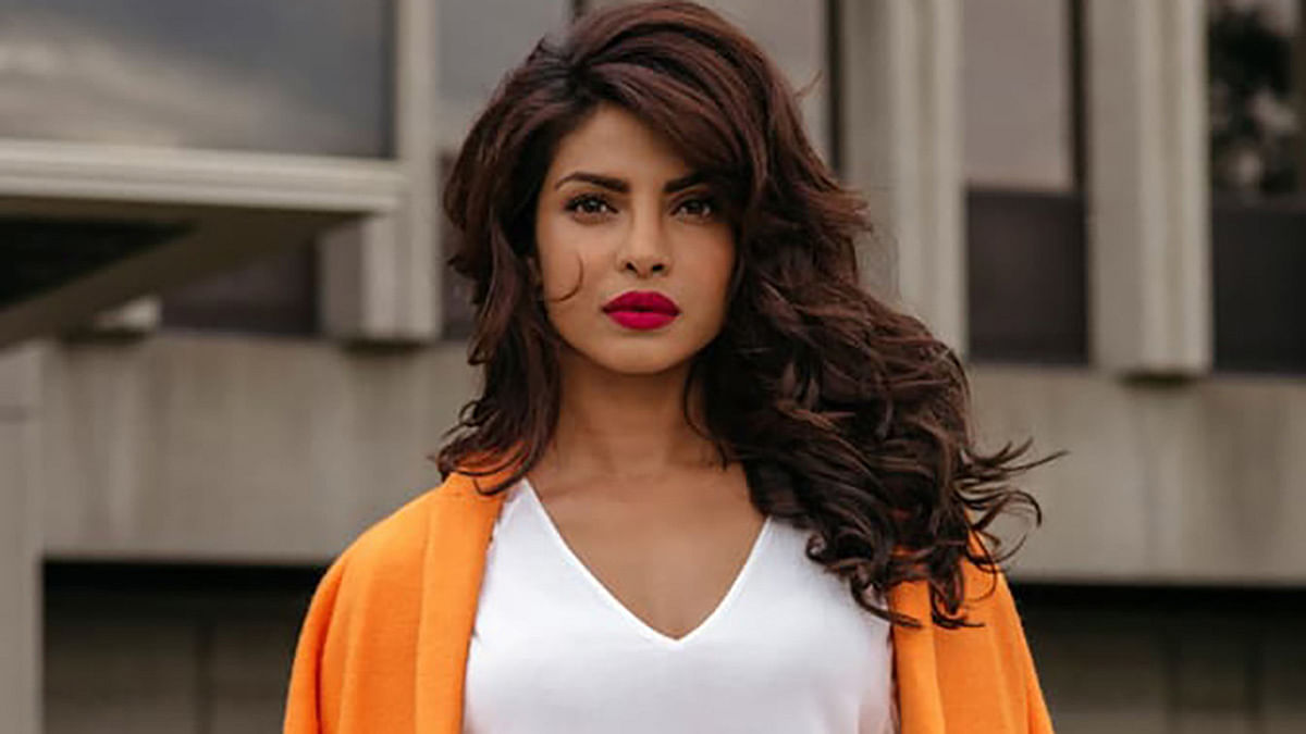 Priyanka Chopra in a still from <i>Quantico</i>