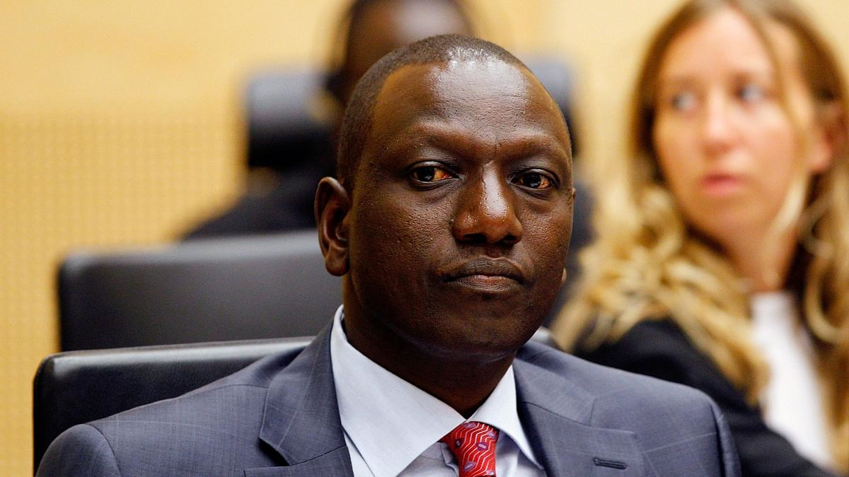 Kenya's Deputy President, William Ruto sits in the courtroom of the International Criminal Court (ICC) in The Hague, Netherlands. (Photo: AP)