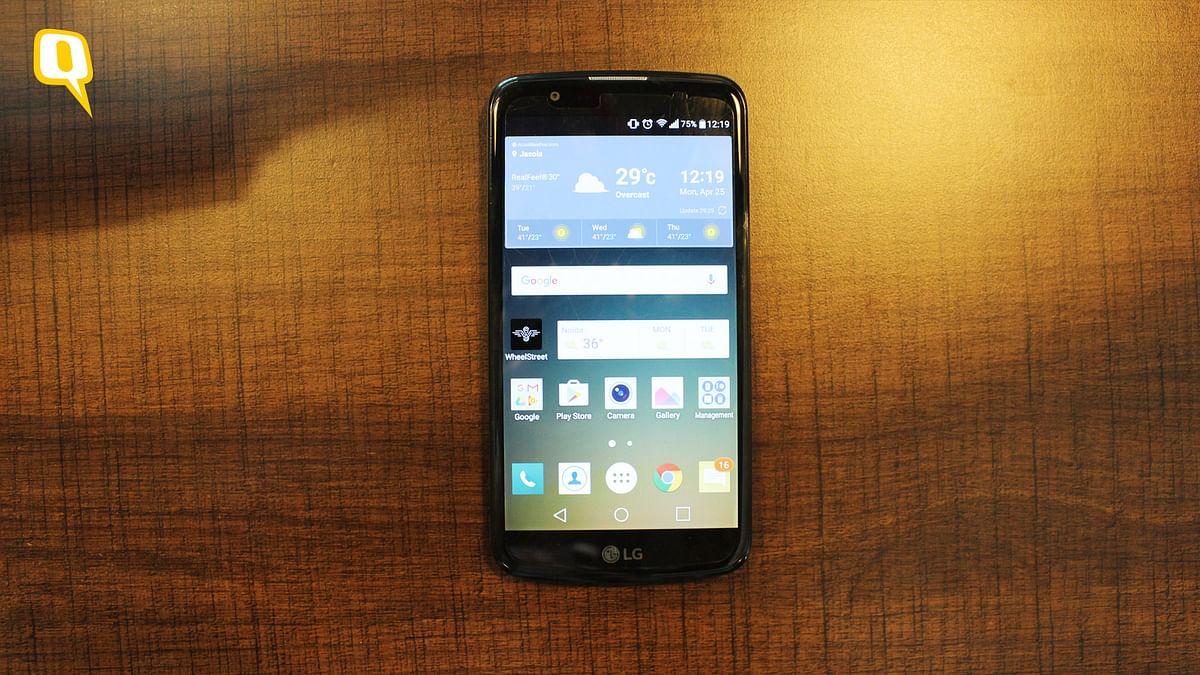 LG K10 LTE (Photo: <b>The Quint</b>)