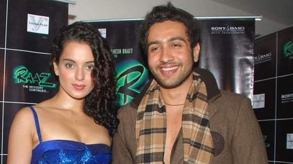 Kangana Ranaut and Adhyayan Suman pose at the promotional event for <i>Raaz 2</i> (Photo: Twitter)
