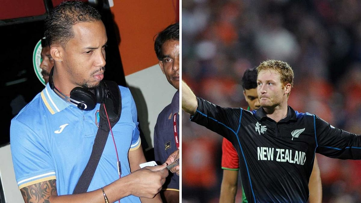 Simmons (left) will be replaced by Guptill (Right) (Photo: <b>The Quint</b>)