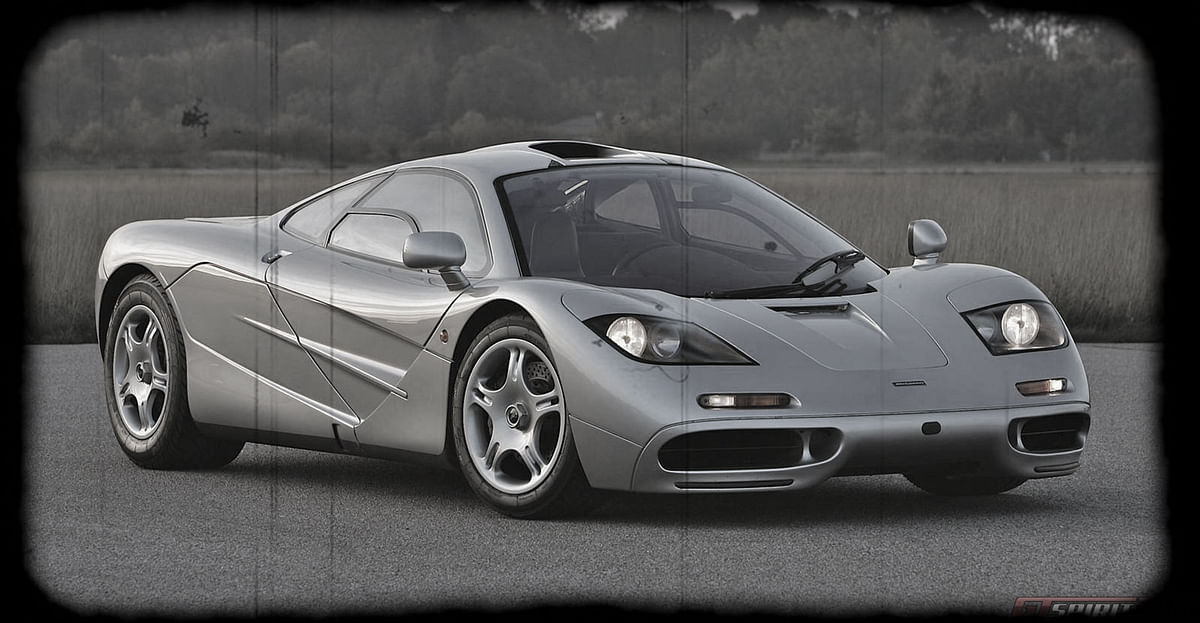 McLaren F1. (Photo altered by <b>The Quint</b>)