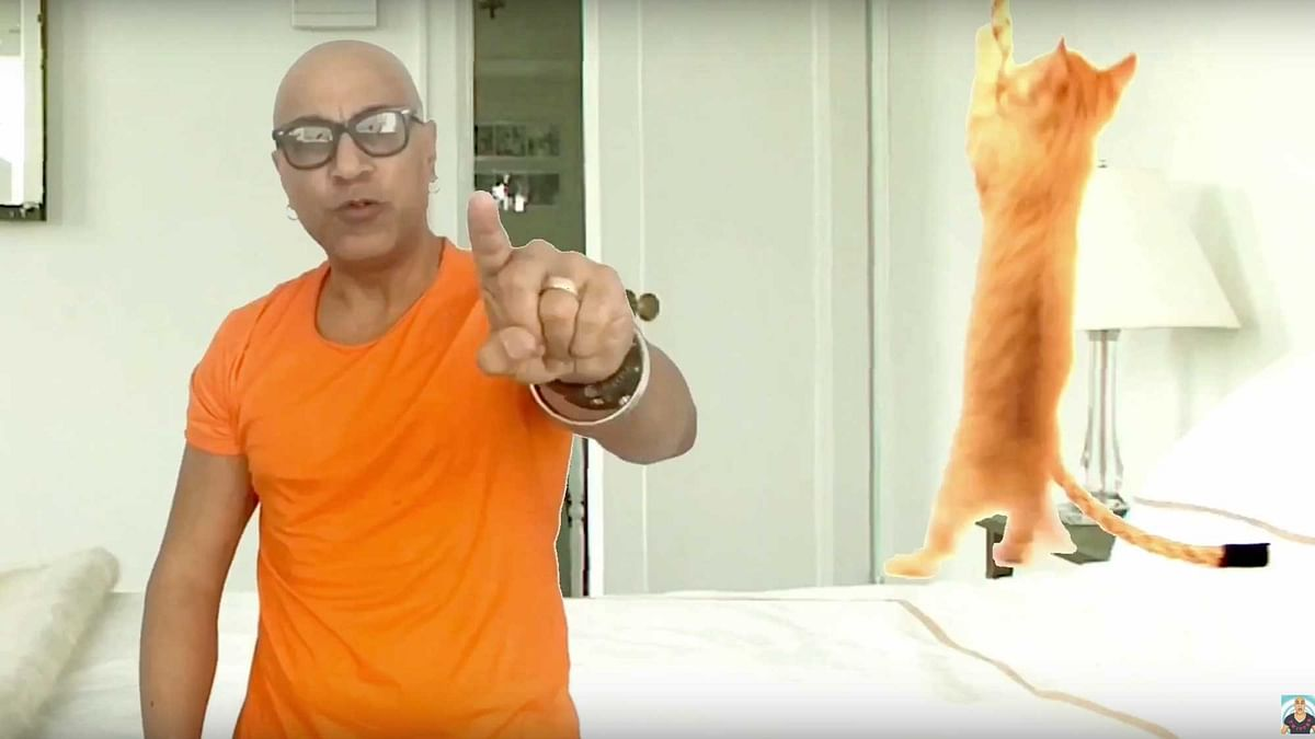 """Baba Sehgal in his recent video 'Hope hai toh dope hai'. (Photo Courtesy: <a href=""""https://www.youtube.com/channel/UChkrAMITHYtaQ2BwRdG4Lzg"""">BabaSehgalEntertainment</a>)"""