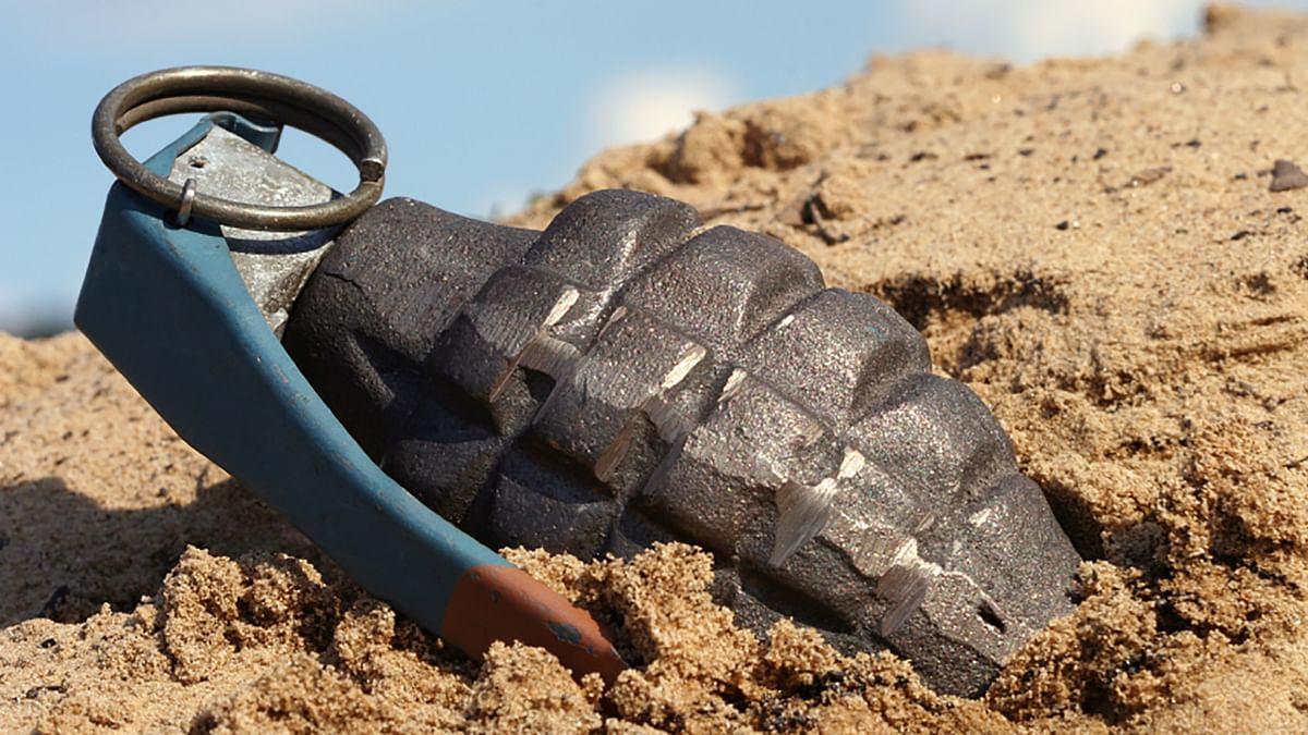 A grenade. Image used for representation purpose.