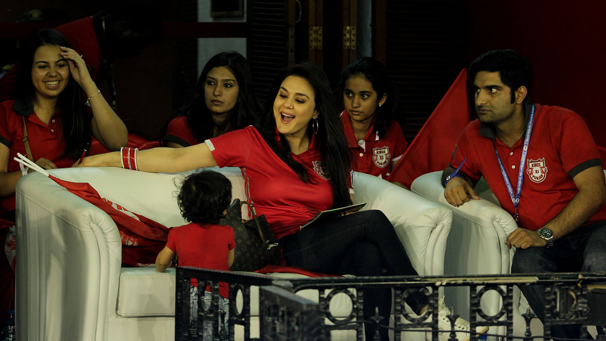 Preity Zinta had filed a complaint against ex-boyfriend Ness Wadia for molesting and intimidating her during an IPL match. (Photo: BCCI)