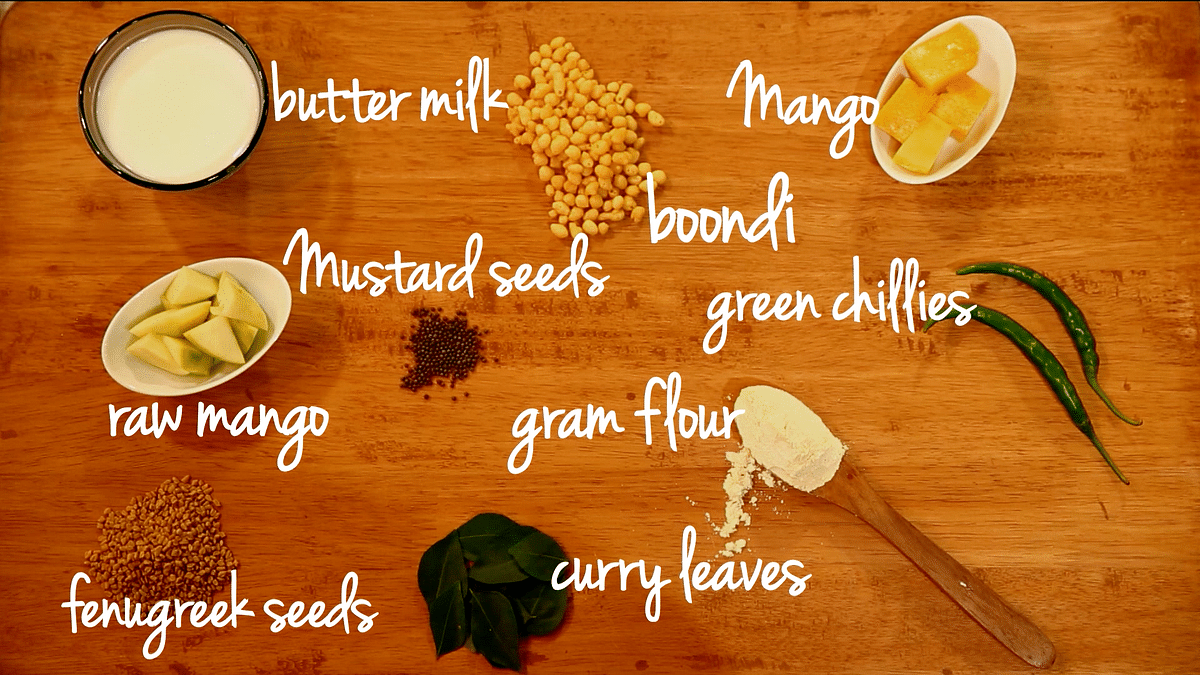 Ingredients. (Photo Courtesy: <b>The Quint</b>)