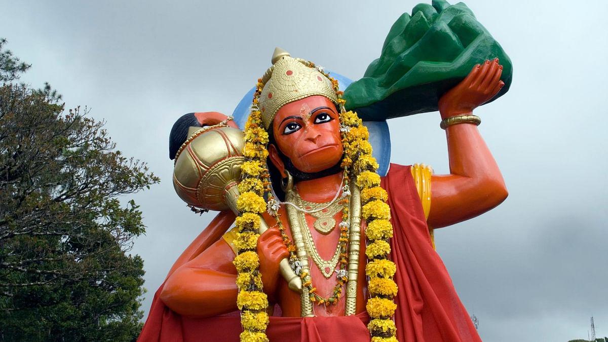 A statue of Hanuman. (Photo: iStock)