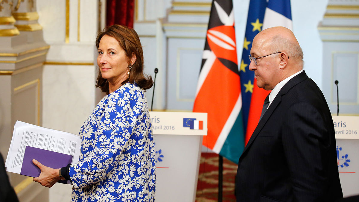 Royal said  that the strength of support meant the climate deal clinched in Paris last year would likely be ratified in New York. (Photo: Reuters)