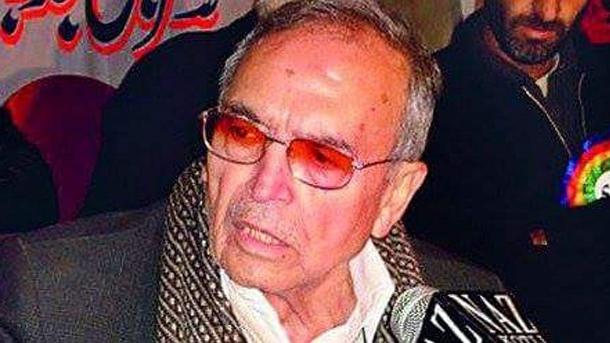 """Amanullah Khan was the&nbsp;founder of Liberation Front (JKLF).&nbsp;(Photo: twitter/<a href=""""https://twitter.com/SmKashmiri"""">@<b>SmKashmiri</b></a>)"""