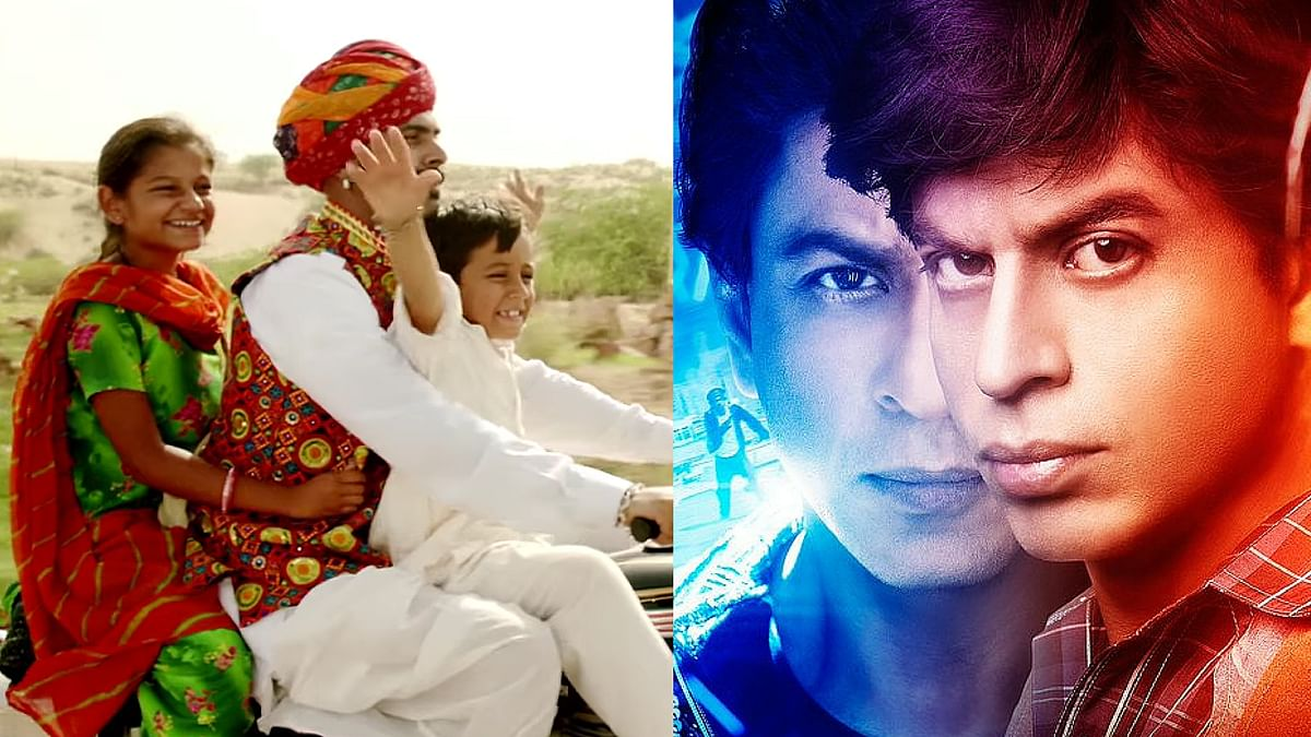 If you're a Shah Rukh fan, you just can't miss Nagesh Kukunoor's <i>Dhanak</i> (Photos: YouTube)