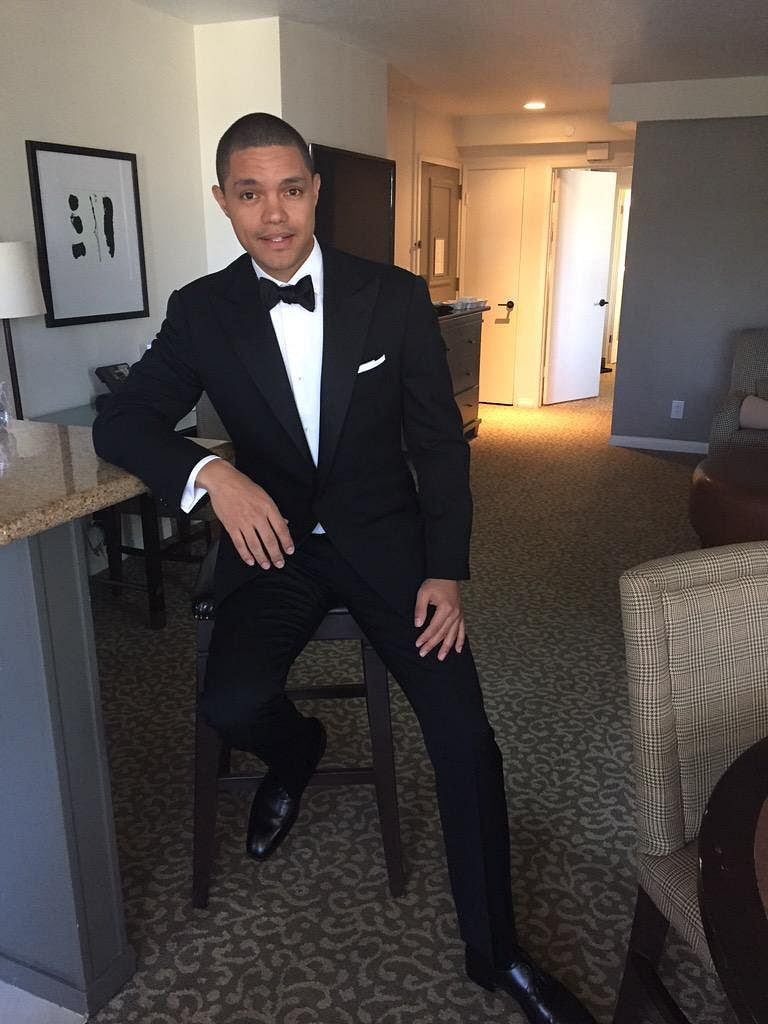 "South African comedian Trevor Noah. (Photo Courtesy: Twitter/<a href=""https://twitter.com/Trevornoah/status/645709548364259328"">@TrevorNoah</a>)"