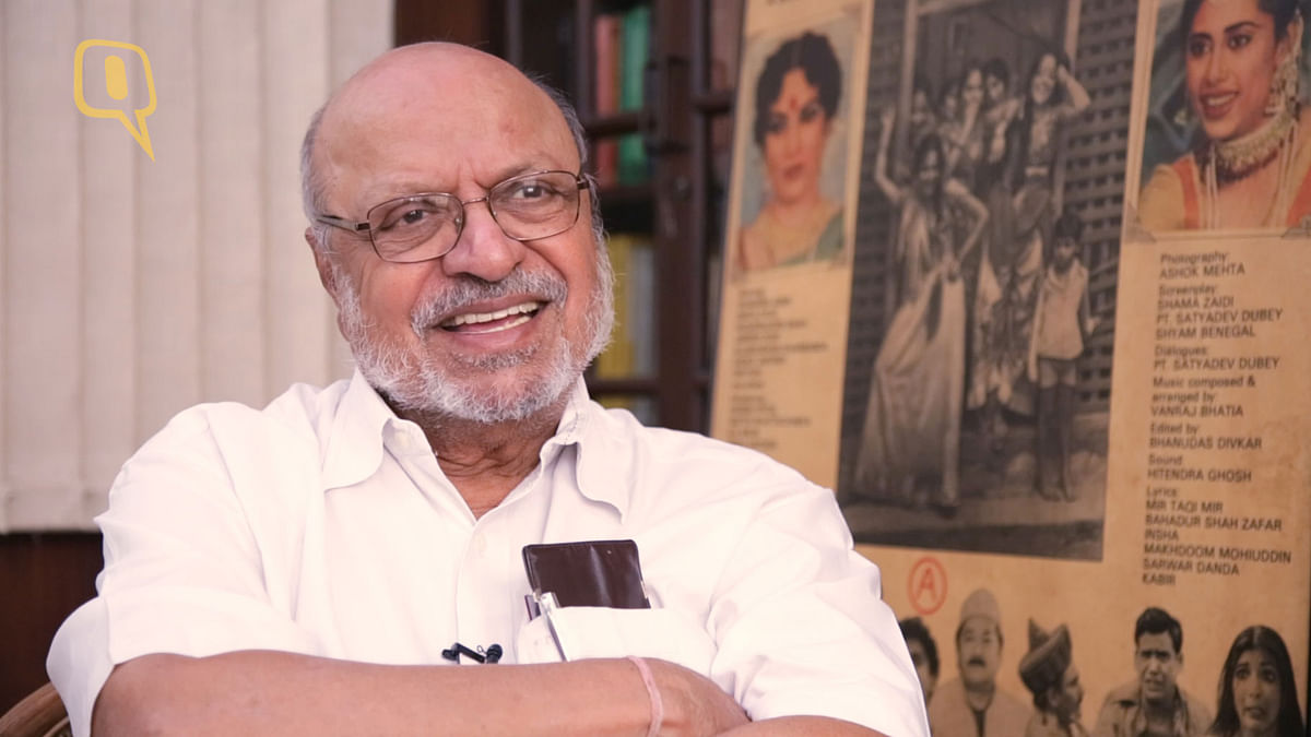 Noted filmaker Shyam Benegal. (Photo: <b>The Quint</b>)
