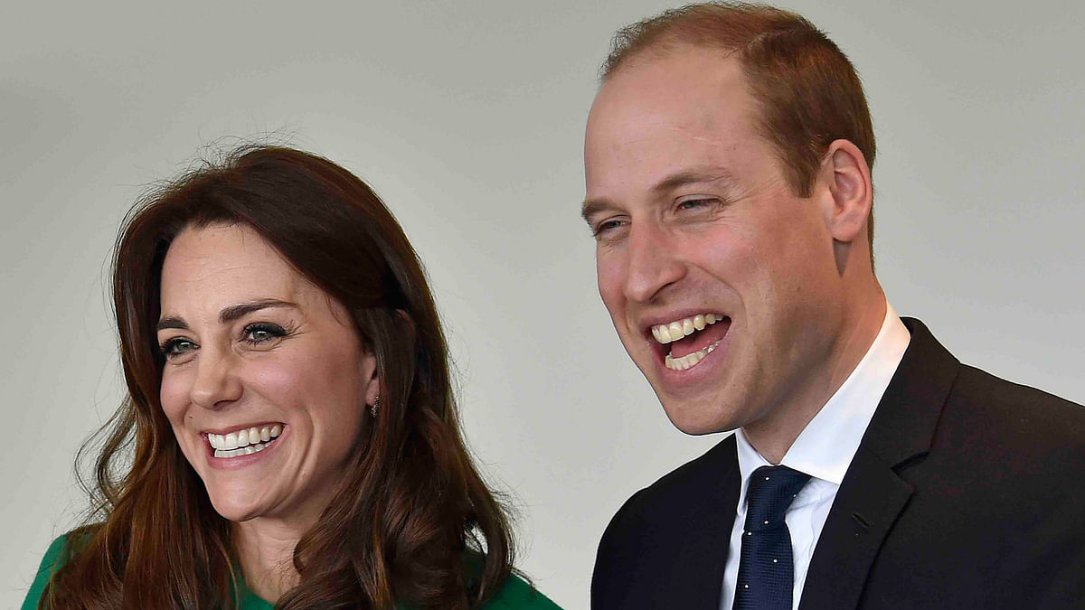 Britain's Prince William and his wife Catherine, Duchess of Cambridge in a file photo from March 2016. (Photo: Reuters)