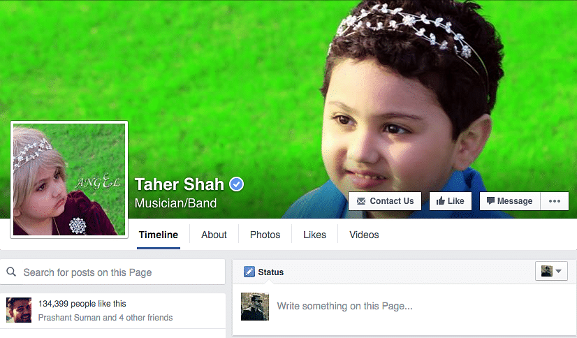 He has a verified account on Facebook. Now be jealous.