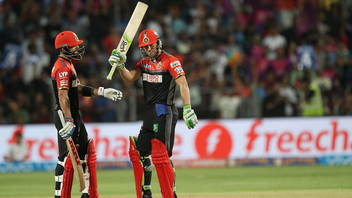 AB quick-fired a 83 of just 46 balls. (Photo: BCCI)