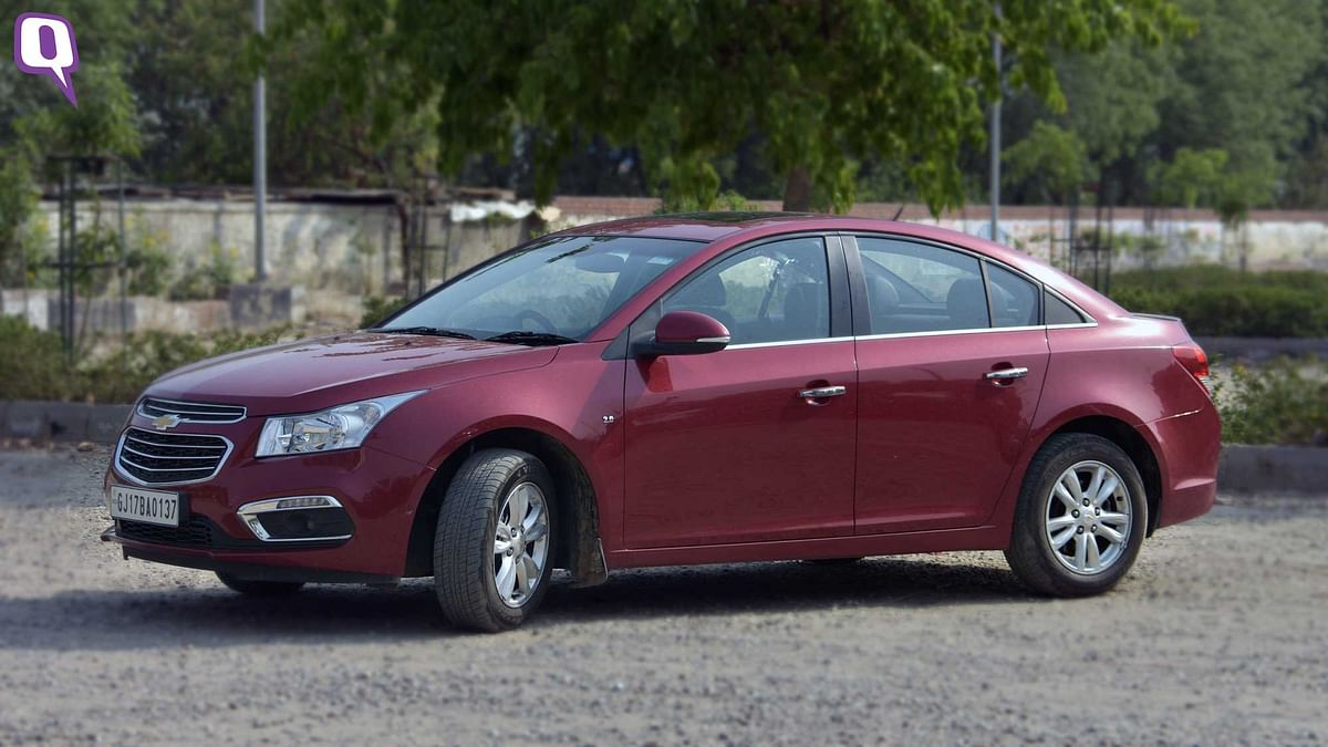 The Chevrolet Cruze comes with 4 airbags. (Photo: <b>The Quint</b>)