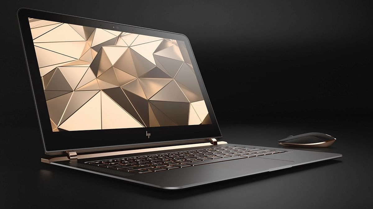 The all new HP Spectre 2016 with 13.3-inch display. (Photo: HP)