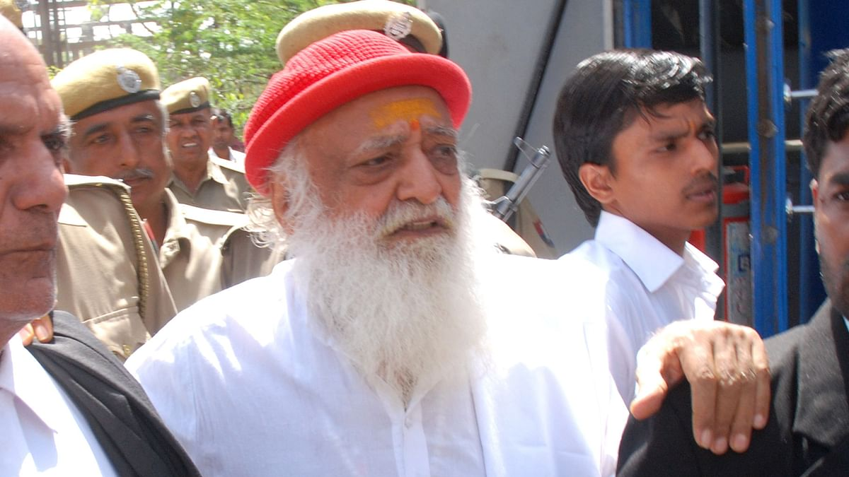 Asaram has been convicted for the rape of a 16-year-old girl.