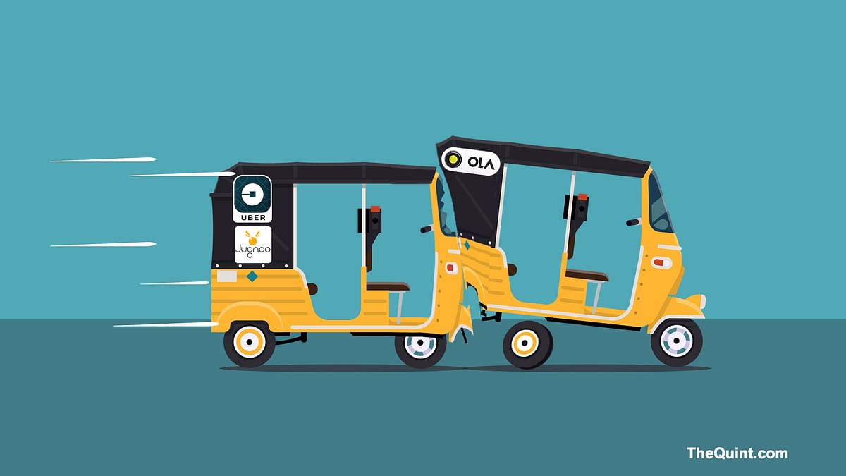 Uber and Ola are involved in a showdown. (Photo: <b>The Quint</b>)