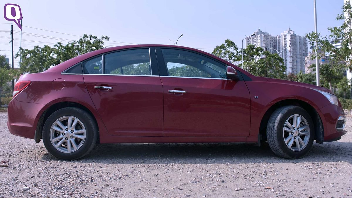 The Chevrolet Cruze has 470 litres of boot space. (Photo: <b>The Quint</b>)