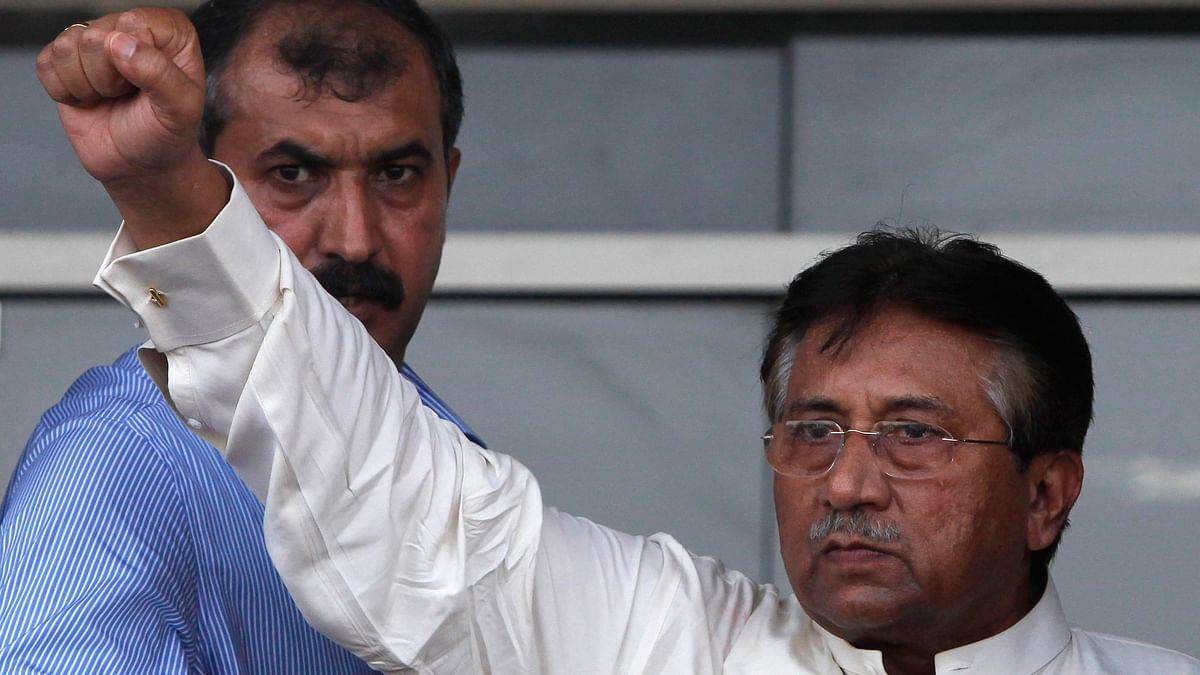 Former Pakistan President Pervez Musharraf. (Photo: Reuters)